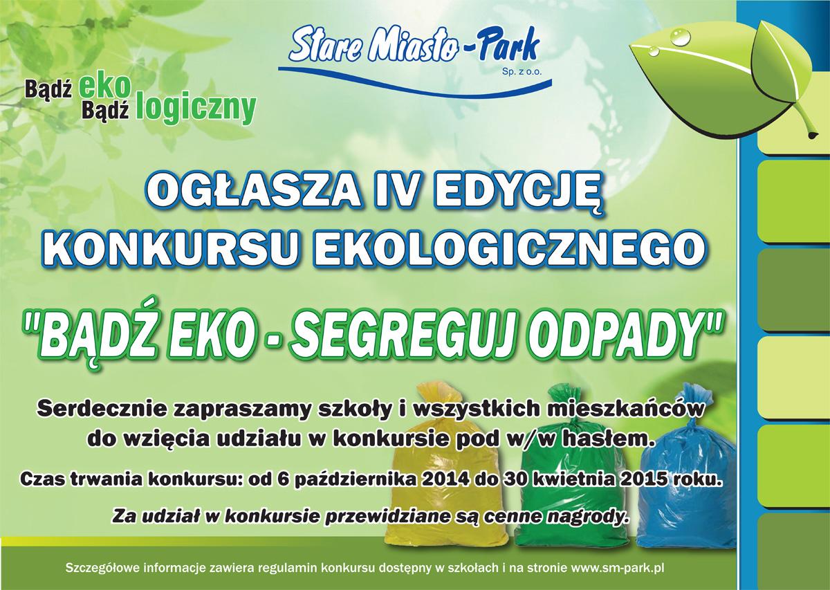 Bądź eko - segreguj odpady